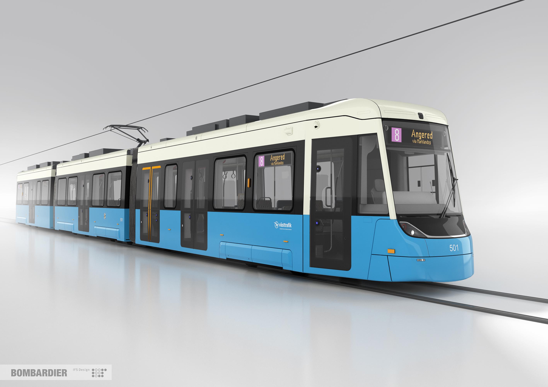 Form och design klar för Göteborgs nya spårvagn